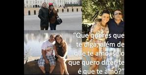 Joana Varela, de 16 anos, com o pai, Pedro Varela, de 53 anos