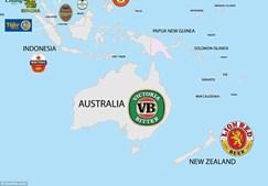 Os australianos preferem a cerveja Victoria Bitter