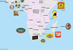 Carling Black Label é a cerveja número 1 na África do Sul