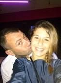 'Queria desejar um Feliz Dia do Pai, apesar dele estar em França a trabalhar. Gosto imenso dele' enviou a Mara Gomes, 18 anos, dedicado ao pai Rui Bacalhau, 41 anos