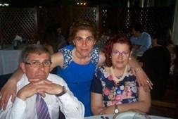 'Amo-te muito Pai, espero que estejas a meu lado sempre, preciso de ti. Feliz dia do Pai!' enviou a Maria da Luz Miranda, 33 anos, para o pai Manuel Pinto, 57 anos. A família é de Santa Maria da Feira