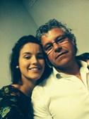'Amo-te muito, pai!' foi a mensagem que a Ana Rita Martins, 19 anos, quis deixar ao pai Orlando Martins, 55 anos, de Santo Tirso