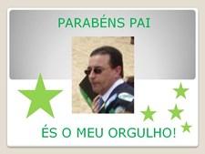"""""""Papi, és o meu orgulho!"""" escreve a filha Raquel Soares para o pai João Soares da Azambuja"""