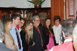 Foto enviada pela Eliza Jardim para o pai Álvaro Figueira, 60 anos, do Funchal