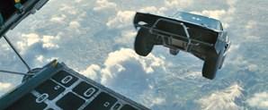 Neste que é o último filme da saga, os carros 'voam'
