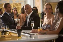 Brian (Paul Walker) e Dominic (Vin Diesel) estão juntos no grande ecrã pela última vez