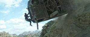 Brian (Paul Walker) durante uma cena de grande tensão
