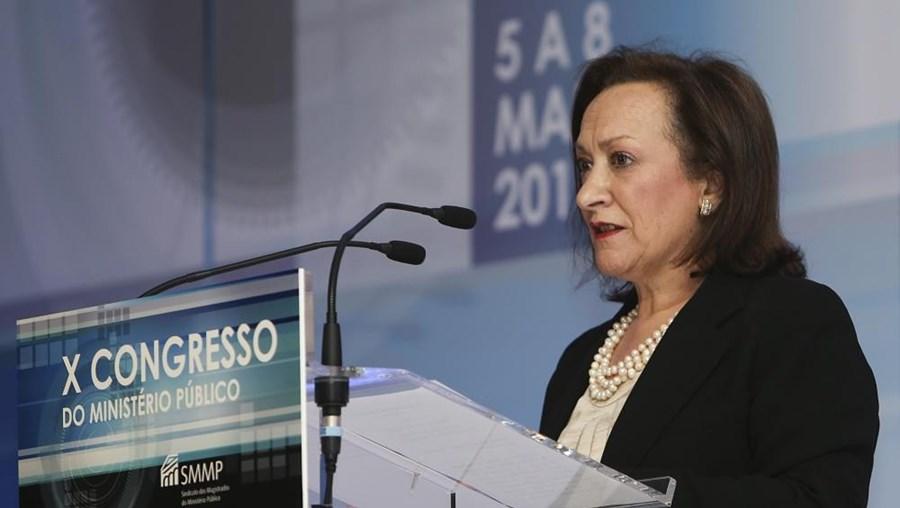 A Procuradora-Geral da República Joana Marques Vidal