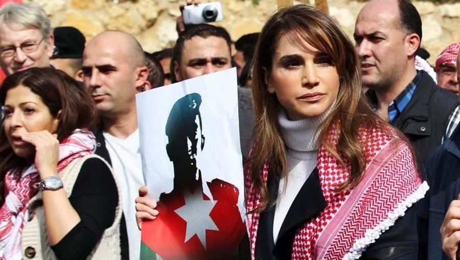 A rainha jordana Rania