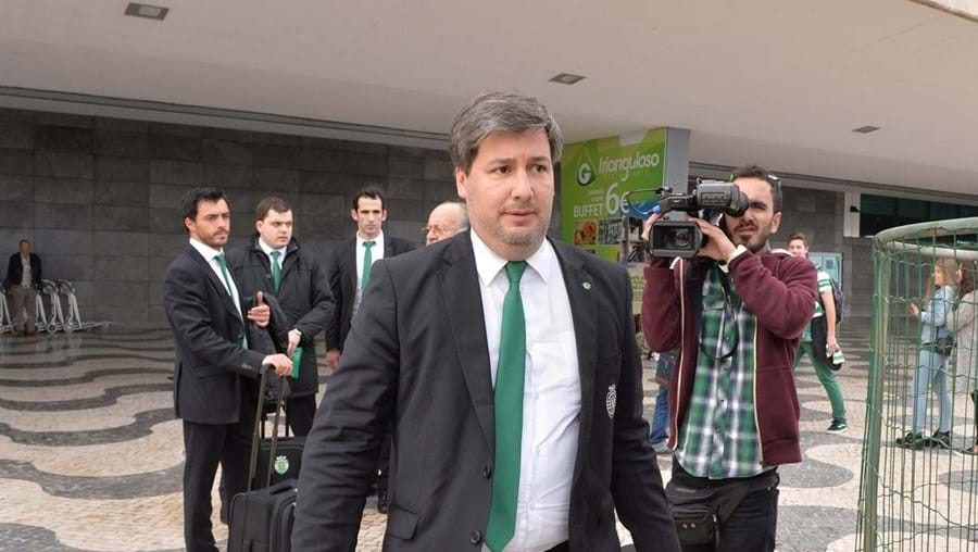 Bruno de Carvalho pediu reforço policial na sua deslocação à sede da Liga, no Porto