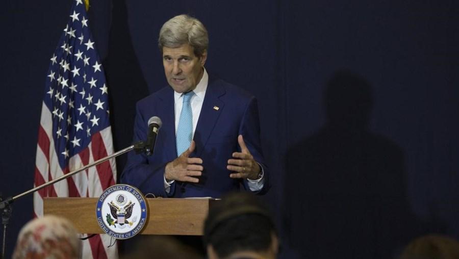 """""""No que diz respeito à ajuda e à assistência, espero realmente uma decisão para muito breve"""", declarou Kerry"""