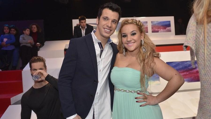 Luís e Joana participaram enquanto casal no 'Desafio final 3'