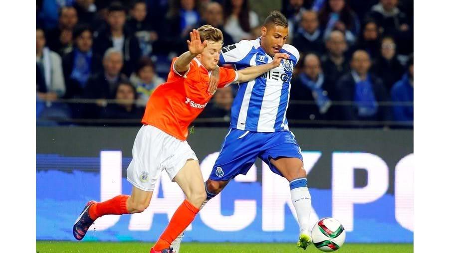 Quaresma marcou na carreira quatro golos ao Benfica