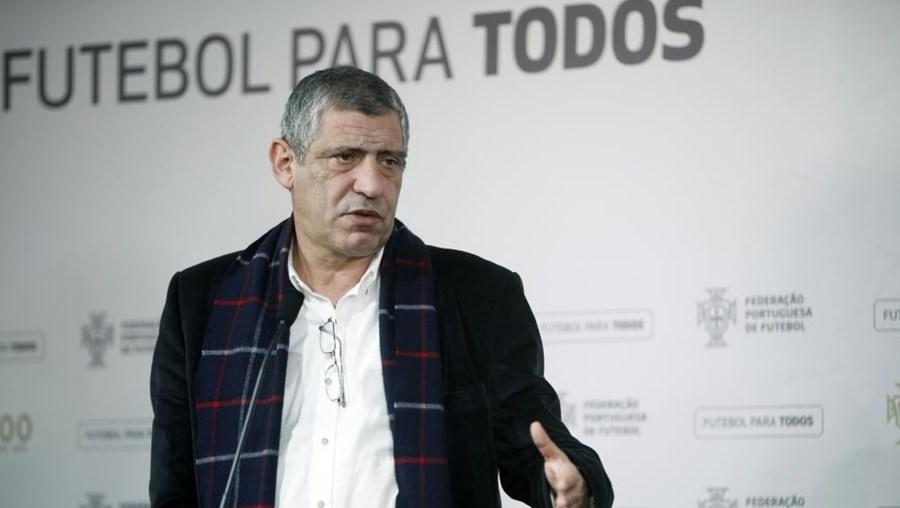 Seleção de Fernando santos joga dia 29 de março no Estádio da Luz