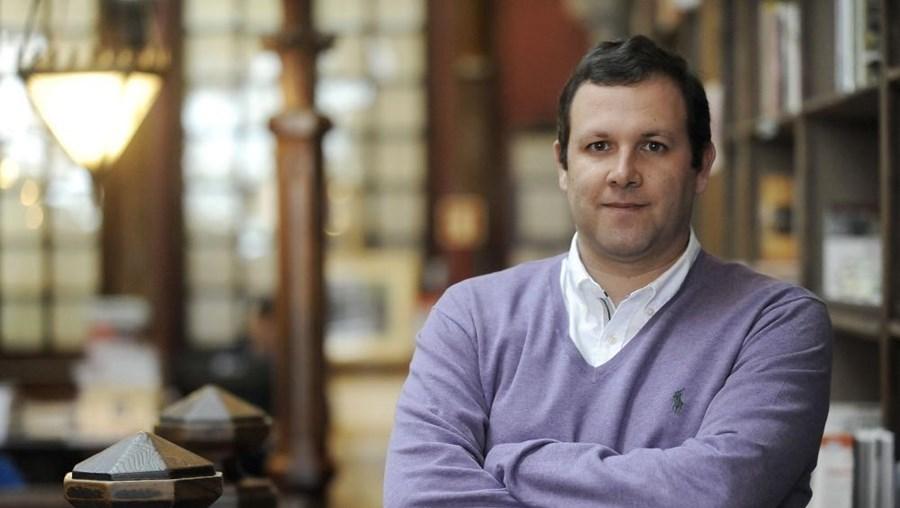 O escritor Luís Miguel Rocha