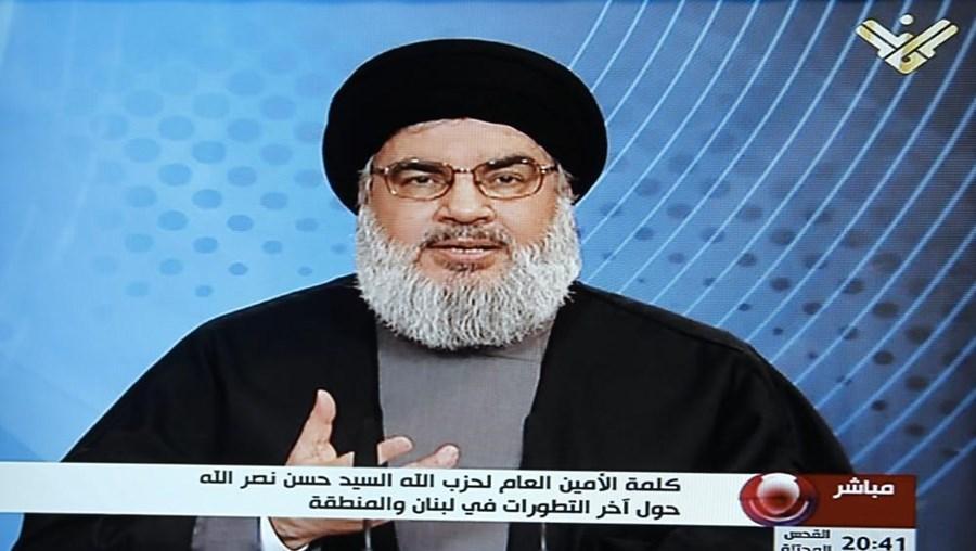 Hassan Nasrallah é o chefe do movimento xiita libanês Hezbollah pró-iraniano