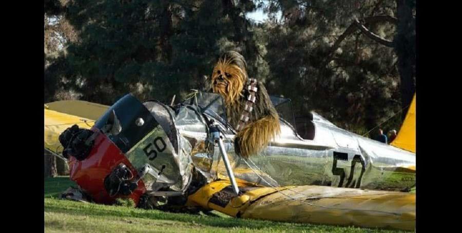 Muitos fãs 'culparam' Chewbacca pelo acidente