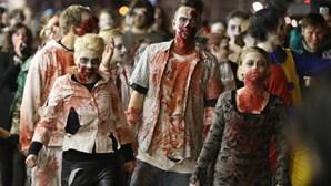 Corrida infestada de zombies em Sintra