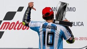 Valentino Rossi vence Grande Prémio da Argentina