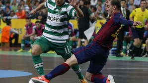 Sporting falha final da UEFA Futsal Cup