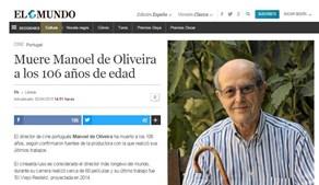 O jornal espanhol 'El Mundo' noticiou a morte do realizador português e destacou o facto de este ter realizado mais de 60 filmes