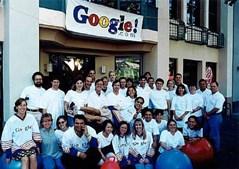 A equipa inicial da Google (1999)