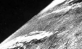 A primeira fotografia tirada do espaço (1946)