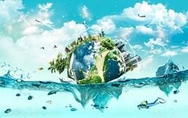 'Last World' pretende alertar a população para as alterações climáticas no Mundo