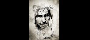 Homenagem a Steve Jobs, criador da Apple, que faleceu em 2011