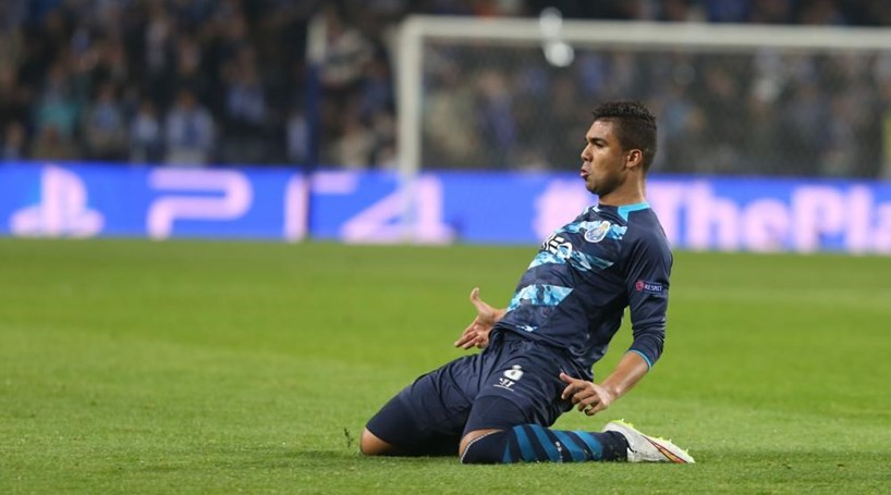 Casemiro acredita que FC Porto chega à final da Champions - Futebol ... b06a1037d5a40