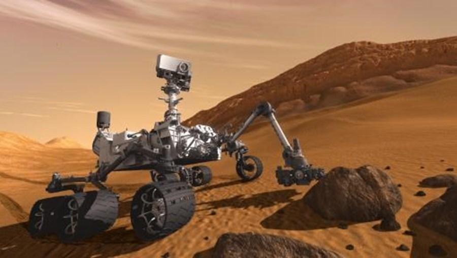 Estudo feito a partir de análises de dados do robô da NASA, Curiosity.