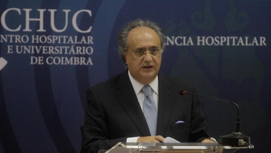 Presidente do conselho de administração do CHUC José Martins Nunes