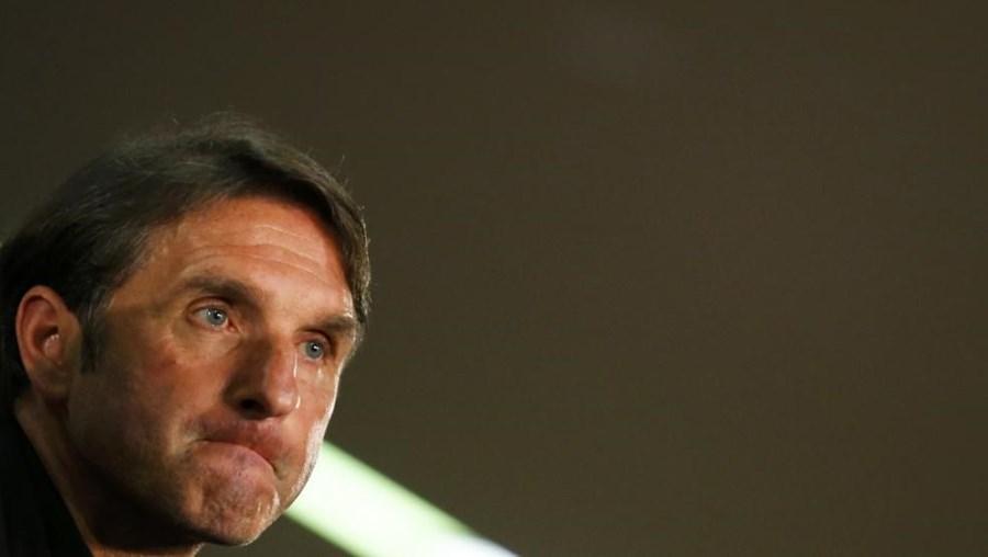 O novo treinador do Hamburgo assinou contrato por 15 meses