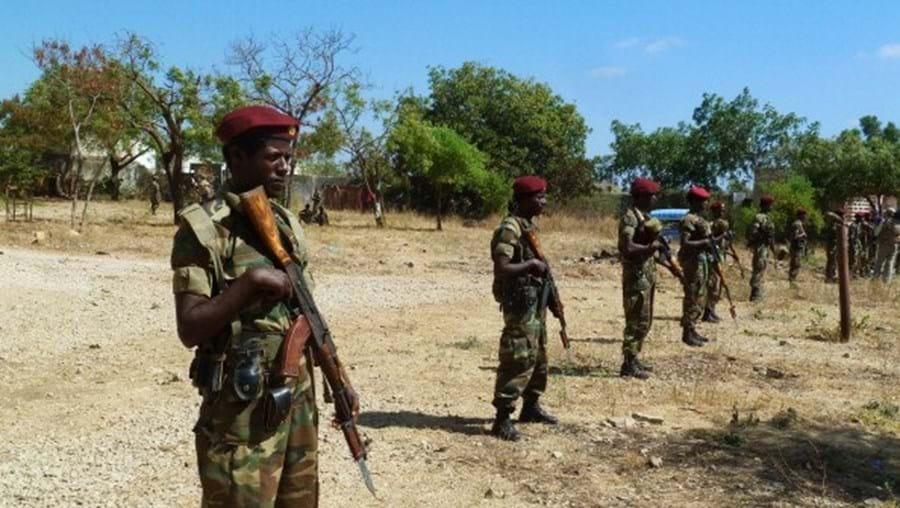Militares da Etiópia foram destacadas para a força da União Africana que combate os islamitas 'shebab'