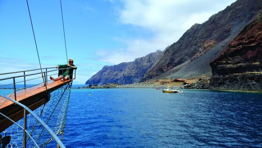 oceano, ilhas desertas, barco,