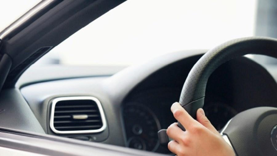 conduzir, volante, carro