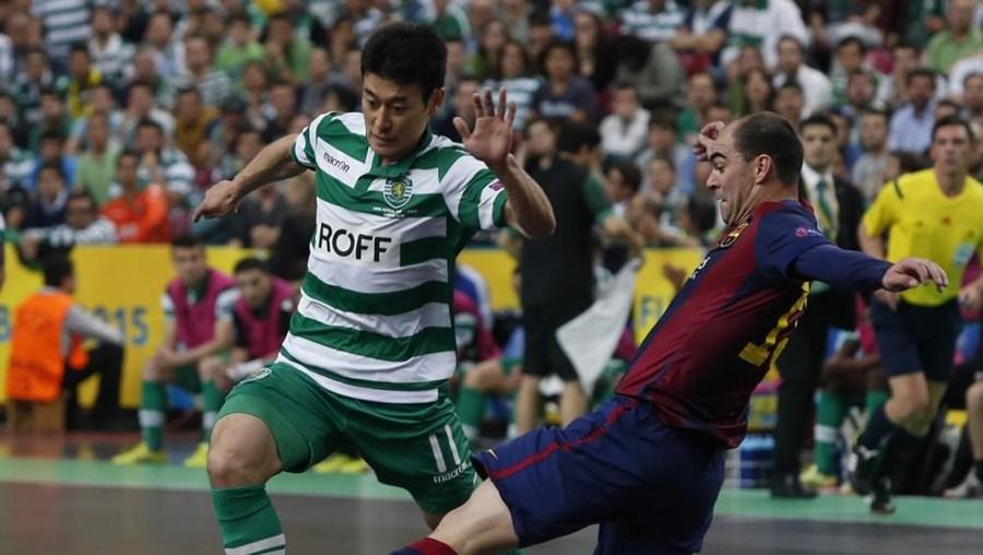 O Sporting vai agora disputar o encontro de atribuição dos terceiro e quarto lugares frente ao Dina Moscovo