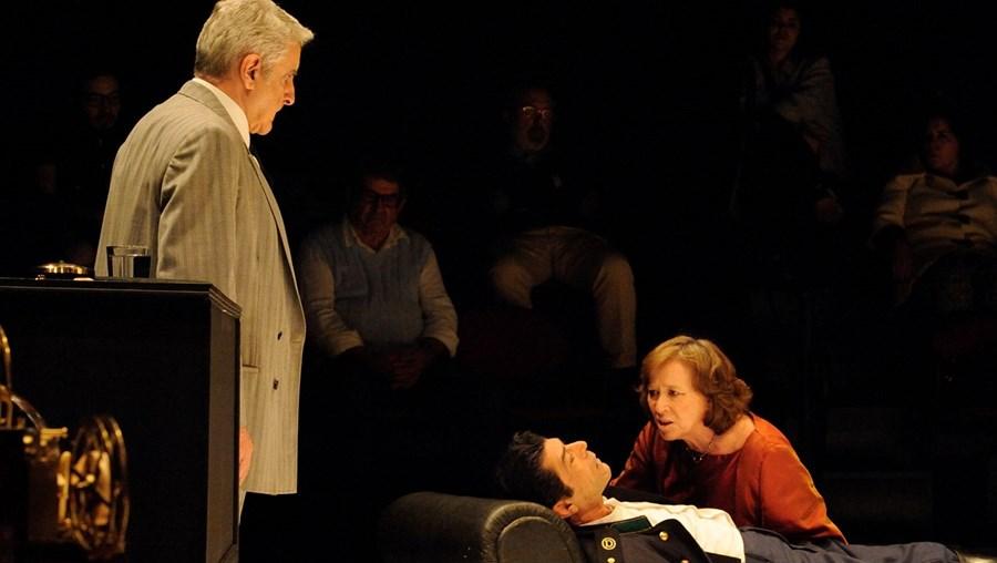O ator integrava o elenco da peça 'Play Strindberg', em cena na Comuna