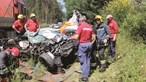 Grávida ferida e marido morto em colisão
