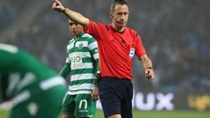 Soares Dias no Guimarães-Benfica