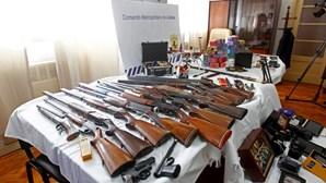 PSP detém homem com 17 armas ilegais