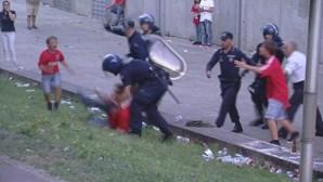 Detenção violenta em Guimarães