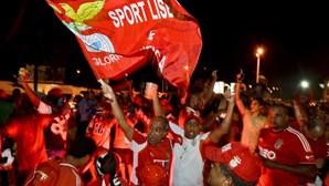 Benfica faz 'um Marquês' na baixa de Maputo