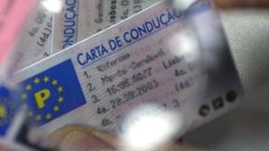 """Site """"vende"""" cartas de condução portuguesas"""