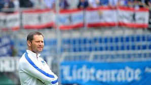 Pal Dardai é o treinador do Hertha Berlim