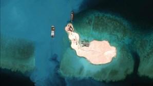 China mobiliza artilharia para Ilhas de Spratleys