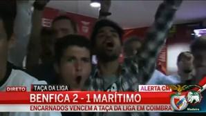 Veja a festa nas casas do Benfica