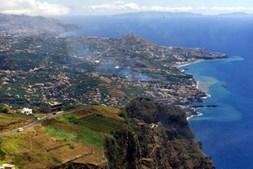 Vista panorâmica da Ilha da Madeira