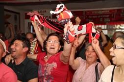 Casa do Benfica de Chaves festeja a conquista do título
