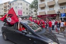 Em Torres Vedras também se celebra a vitória encarnada
